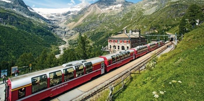 Dünyanın en güzel tren yolculuğundan kareler