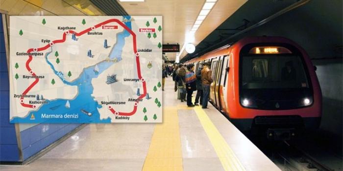 Kazlıçeşme söğütlüçeşme metrosu