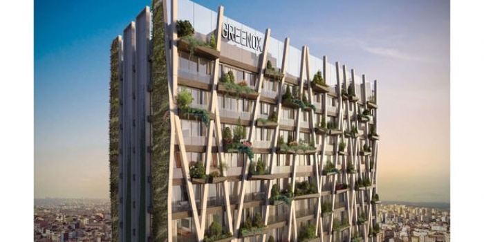 Greenox urban residence projesi