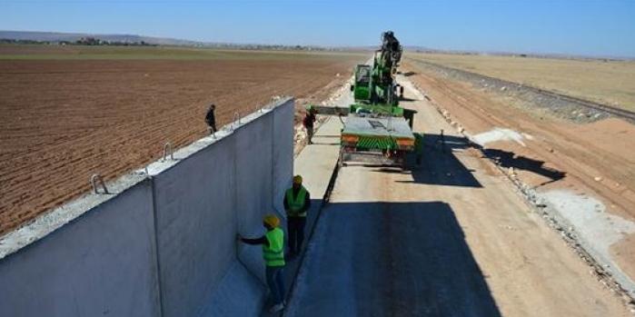 Suriye Duvarı'nda sona doğru