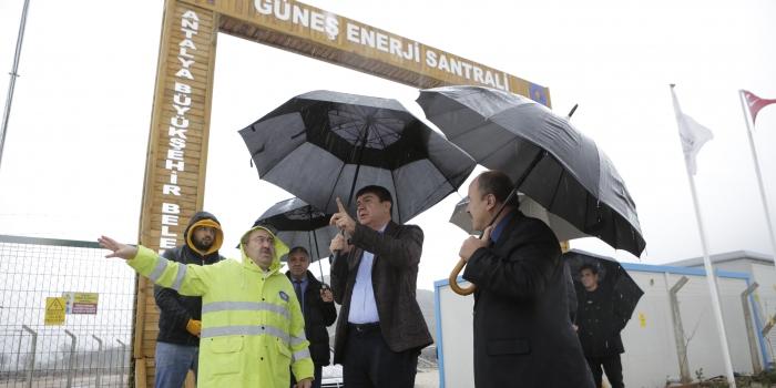 Başkan Türel projeleri inceledi