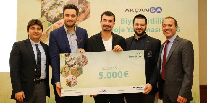 Akçansa Biyoçeşitlilik Proje Yarışması'nın kazananları açıklandı