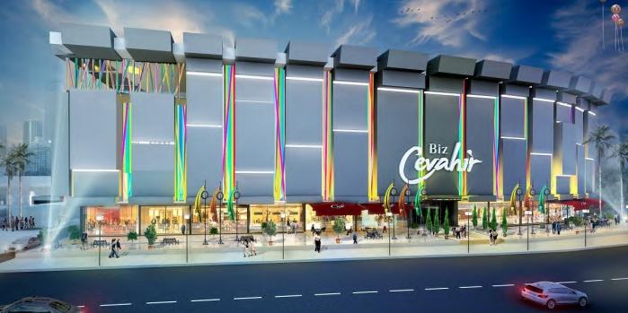 Biz Cevahir Haliç AVM 3 Aralık'ta açılıyor