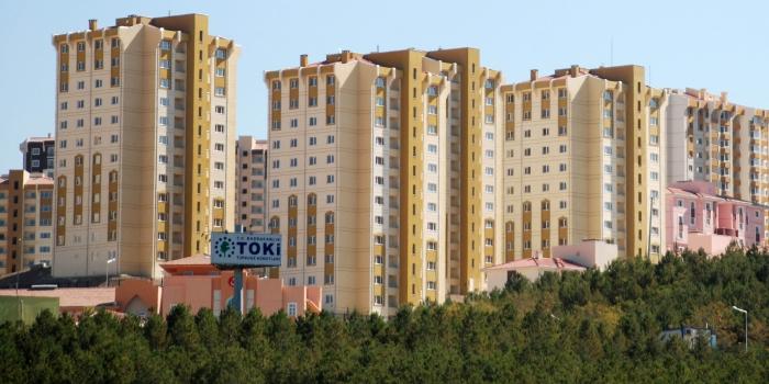 TOKİ Karaman Organize Sanayi Çalışanları Belediye Projesi kura çekilişi