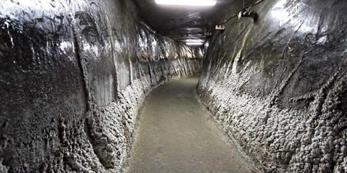 Tuz madeni eğlence merkezine dönüşürse