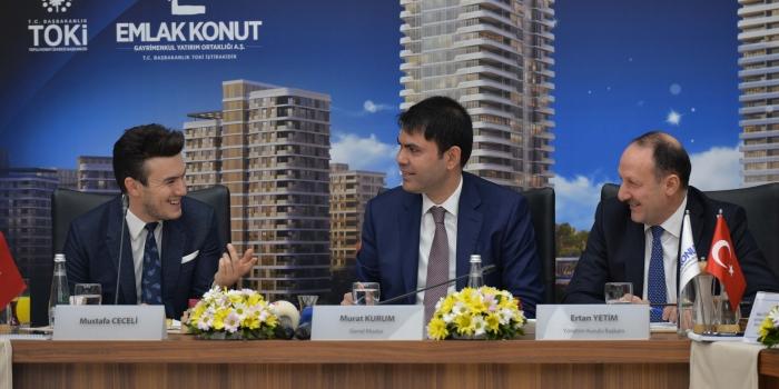 Emlak Konut Başkent'e yeni Başkent inşa edecek