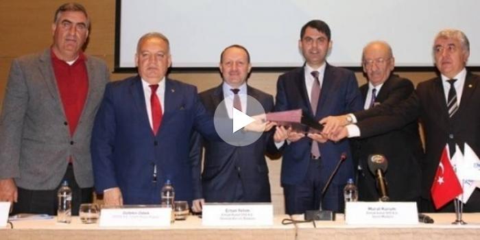 Emlak Konut Tariş protokolü imzalandı