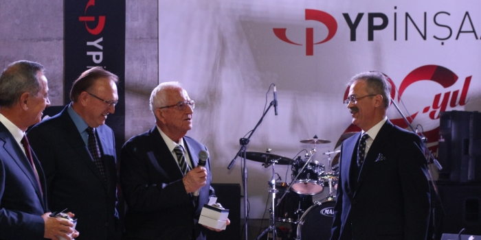 YP İnşaat 20'nci yılını kutluyor