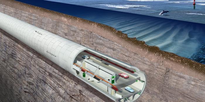 Avrasya Tüneli İBB trafik haritasında