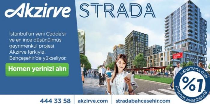 İstanbul'un en ince düşünülmüş gayrimenkul projesi: Akzirve STRADA