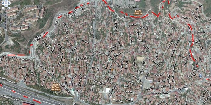 Yenimahalle'de gelişim proje, Sarıyer'de riskli alan ilanı