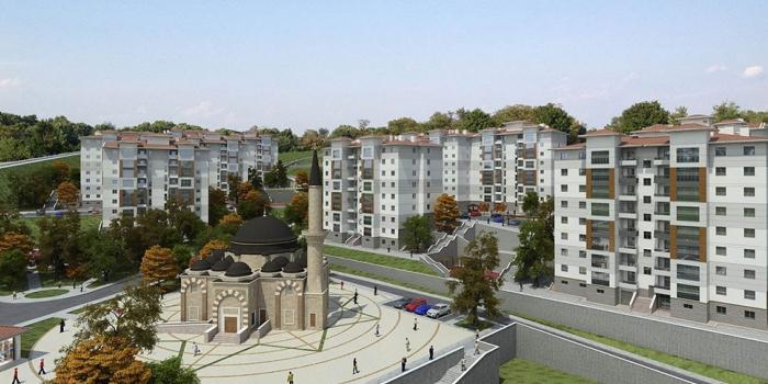 TOKİ Kırıkkale'ye 387 konut inşa edecek