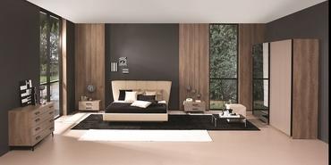 Yatak odasına modern ve şık dokunuş: Teleset Nebula