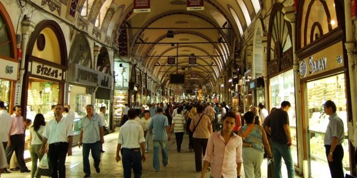 Kapalıçarşı kiralarında Türk lirası dönemi