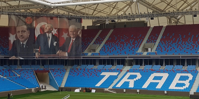 Akyazı Stadyumu'nda açılış öncesi son hazırlıklar