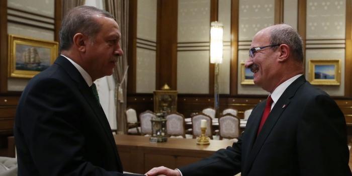 Cumhurbaşkanı Erdoğan, ATO Başkanı Baran'ı kabul etti