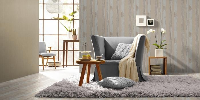 Home Style-Modern Surfaces duvar kağıdı ile huzurlu atmosfer