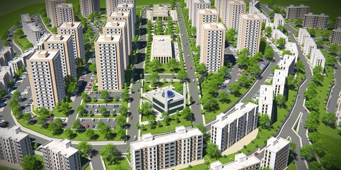 TOKİ'den Ankara Mamak'a 948 konutluk kentsel dönüşüm projesi
