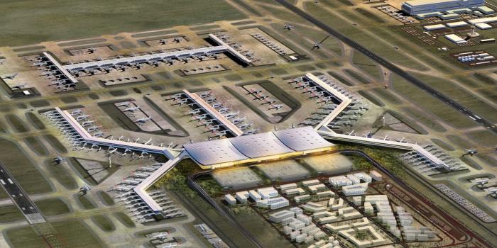 3. Havalimanı'nda 'ithal taş' tartışması büyüyor