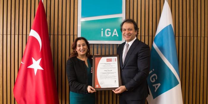 3. Havalimanı'na 'uluslararası çevre yönetimi sertifikası'