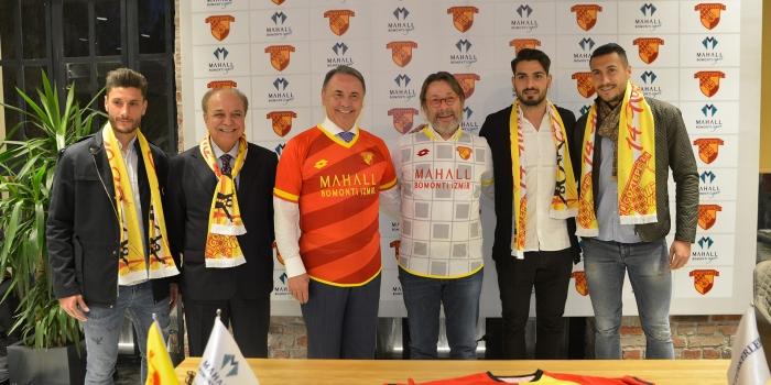 Mahall Bomonti İzmir, Göztepe'ye sponsor oldu