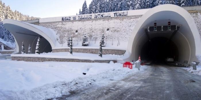 Ilgaz Tüneli bugün açılıyor