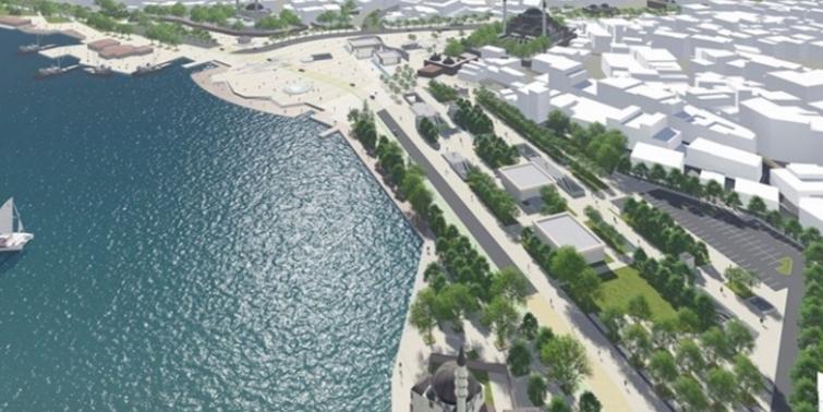 Üsküdar Meydanı Projesi yaz bitmeden tamamlanacak