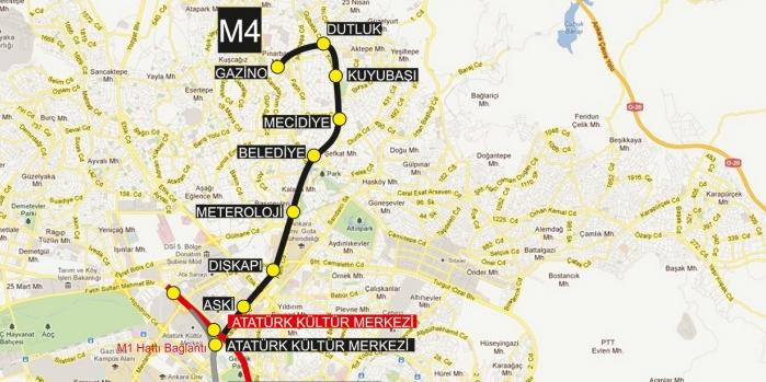 Keçiören-Kızılay metrosu 2018'in sonuna yetişecek