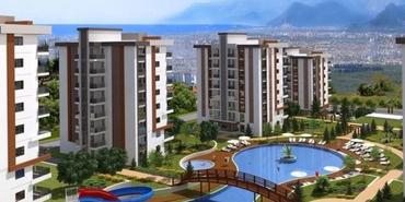 Panorama Evleri Antalya Kepez'de yükseliyor
