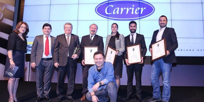 Alarko Carrier, bir kez daha sektörünün en başarılı markası seçildi.