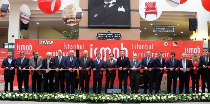 Avrasya'nın en büyük mobilya fuarı İSMOB açıldı