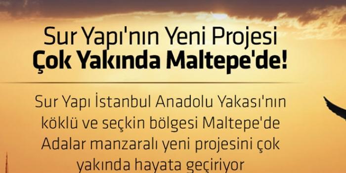 Sur Yapı Maltepe projesi!