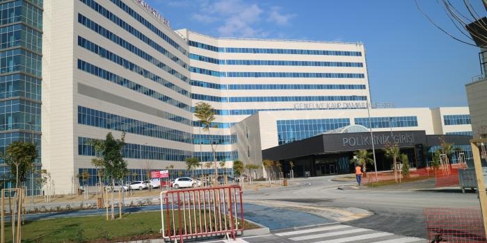 Mersin Şehir Hastanesinde Yaktaş imzası