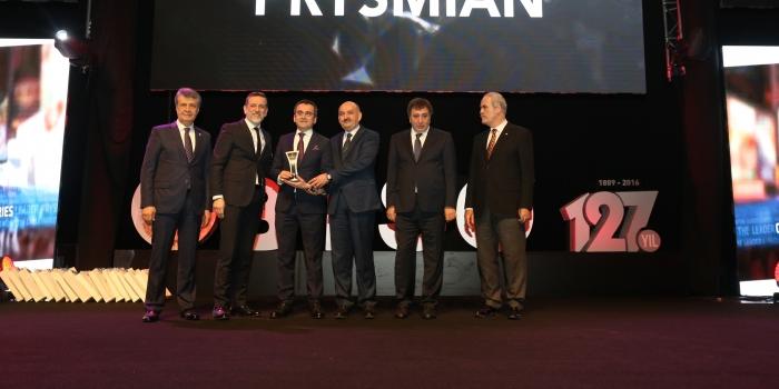 Prysmian Group Türkiye'ye bir ödül daha