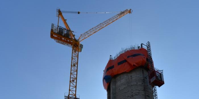 Küçük Çamlıca Kulesi 128 metreye ulaştı