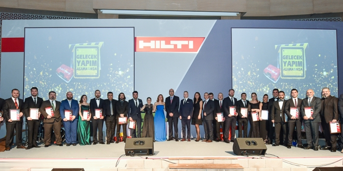 Hilti Türkiye'de 'Gelecek Yapım Aşamasında'