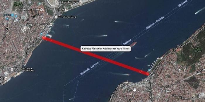 Kabataş Üsküdar yaya tüneli projesinin detayları belli oluyor