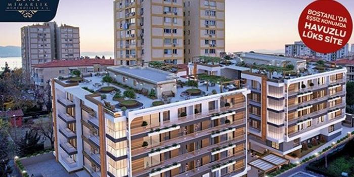 Bostanlı Bivalvia Residences fiyatları 900 bin TL'den!