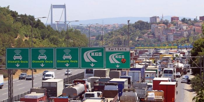 Köprü ve otoyollardan 1.2 milyar gelir elde edildi