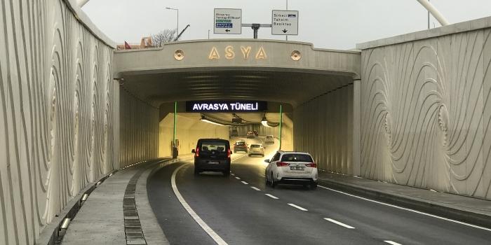 Avrasya Tüneli'nden 24 saat kesintisiz geçiş 31 Ocak'ta başlıyor