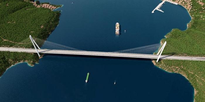 1915 Çanakkale Köprüsü'nden 15 Euro+KDV karşılığında geçilecek