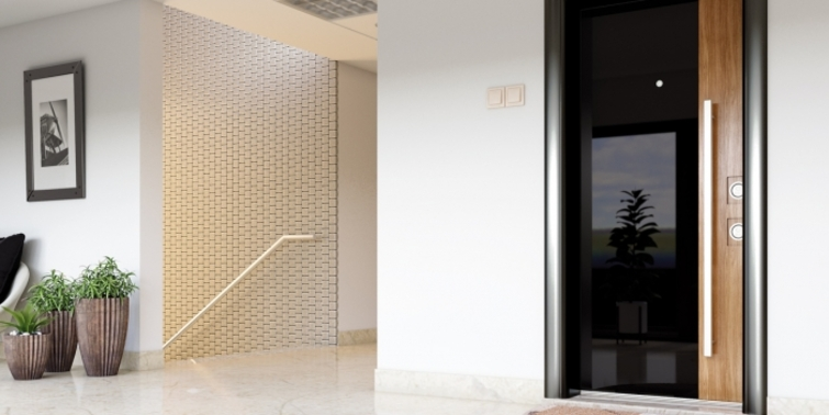 Çelik Kapı'yı camın ihtişamı ile buluşturan ürün: Kanal