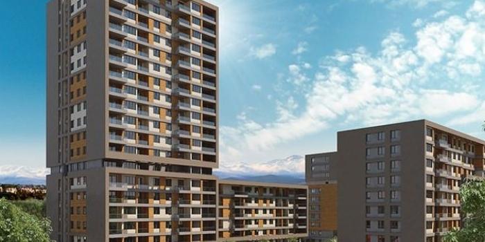 Evora Denizli 240 ay vadeli konut satışı