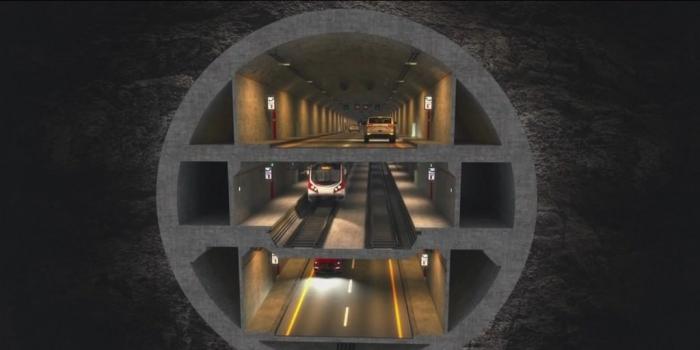 3 katlı büyük istanbul tüneli