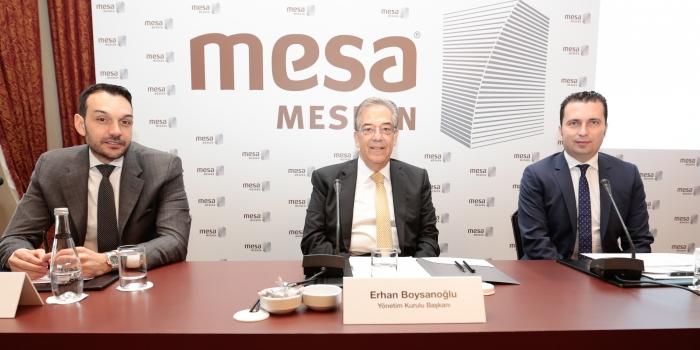 MESA'dan 2017'de 3.5 milyar TL'lik yatırım planı