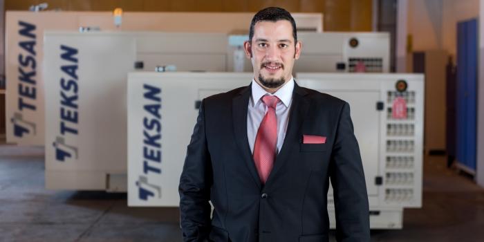 Teksan jeneratör yeni ürününü ilk kez Dubai'de tanıttı