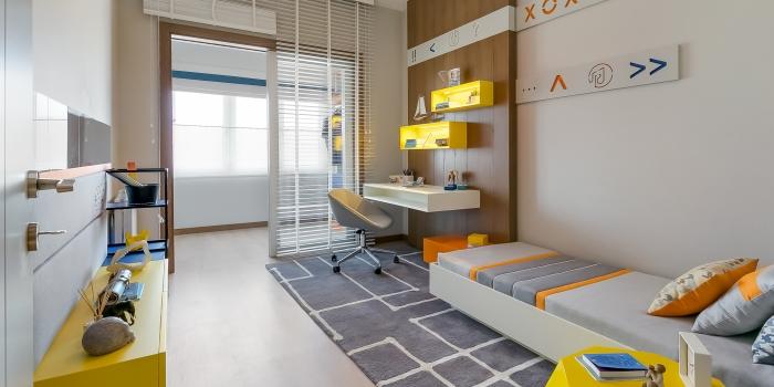 Gönye Proje Tasarım'dan Hayal Gücüyle Kurgulanmış Çocuk Odaları...