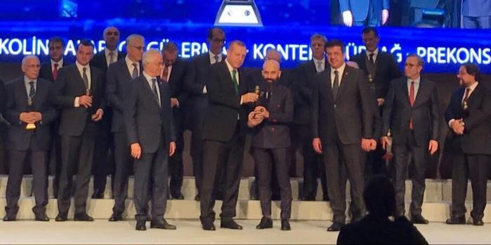 ESTA'ya Cumhurbaşkanı Erdoğan'dan ödül