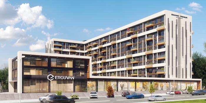 Erguvan Premium Residence Kurtköy'de yükseliyor