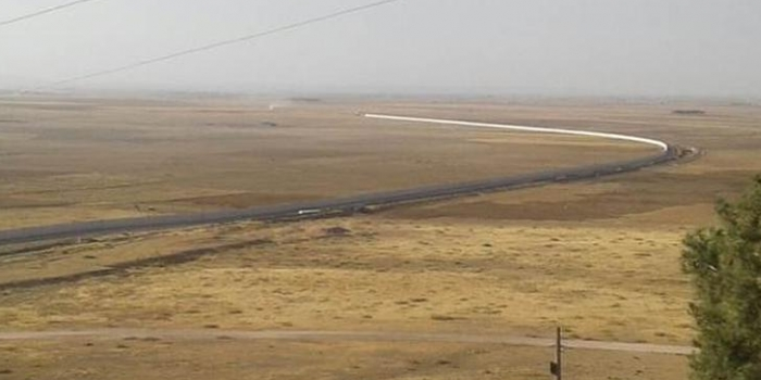 Suriye sınırı projesi